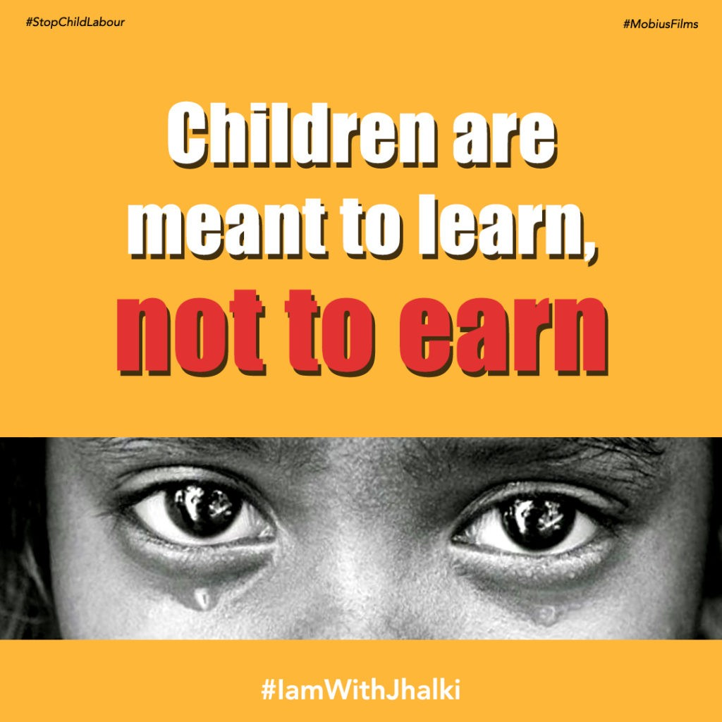 Children are meant to learn, not to earn